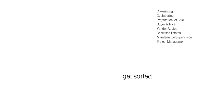 Robyn provides niche real estate services to select clients. Your real estate sorted effectively, swiftly and professionally. Moving on, moving up, moving out – get sorted …get Robyn!